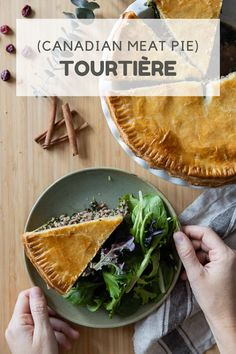 Tourtière is a French Canadian Meat Pie that tastes better than anything you have tried in your life! Crunchy and juicy at the same time. #tourtiere #canadianpie #frenchcanadian Healthy Holiday Recipes, Healthy Meat Recipes, Healthy Cooking, Real Food Recipes, Cooking Recipes, Clean Eating Diet, Healthy Eating, Healthy Meats, White Meat