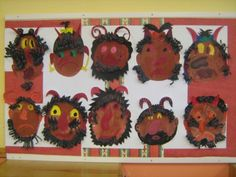 Techno, Advent, Diy And Crafts, Kindergarten, Wreaths, Halloween, Frame, Kids, Devil