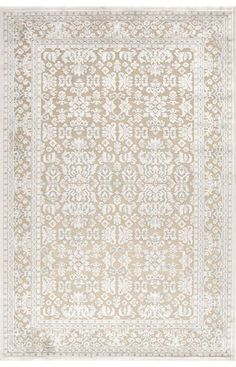 $5 Off when you share! Jaipur Rugs Fables FB07 Cream Rug | Traditional Rugs #RugsUSA
