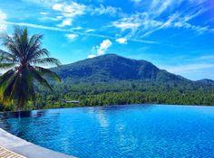 Infinity Pool @ InterContinental Samui Baan Taling Ngam Resort