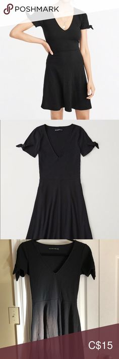 Abercrombie skater dress Size SP, worn couple times only. Cute little dress! Abercrombie And Fitch Dresses, Abercrombie Fitch, Plus Fashion, Fashion Tips, Fashion Trends, Little Dresses, Skater Dress, Cold Shoulder Dress, Couple