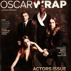 jaredleto Me in Oscar Wrap Magazine w/ Oscar Isaac, Lupita Nyong'o + Adèle Exarchopoulos — See the photos at JaredLeto.com
