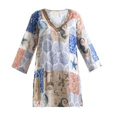 Welcome to Blε - Ble Resort Collection Kaftan, Shirt Outfit, Kimono Top, Cover Up, Blouses, Shirts, Shopping, Collection, Tops