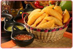 Empanadas con Aji y  hogao