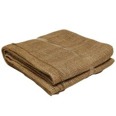 80 In. X 80 In. Natural Burlap Landscape Fabric