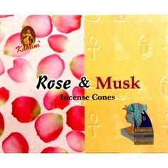 Kamini Incense Cones - Rose Musk - The Hippie House Smoke Drawing, Hippie House, Box Roses, Incense Cones, Feminine Energy, Peace And Love, Earthy, Fragrance, Determination