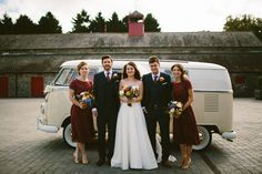 A Pretty Polka Dot Wedding Dress and Shades of Autumn | Love My Dress® UK Wedding Blog