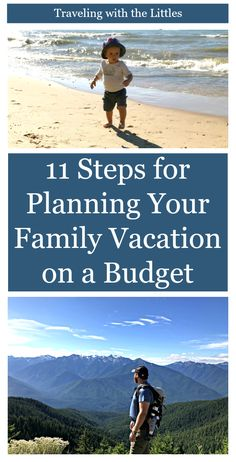 How do you plan a family vacation on a budget? Check out these 11 Steps to planning an enjoyable, affordable, family vacation. Learn where to save money and shave unnecessary expenses so that you can do more of the things you enjoy! Affordable Family Vacations, Family Vacation Destinations, Travel Destinations, Vacation Ideas, Amazing Destinations, Travel Deals, Budget Travel, Travel Guides, Travel Advice