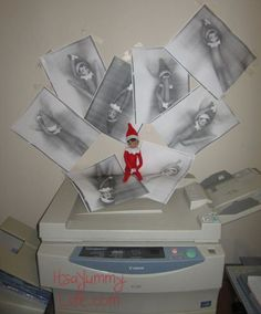 Elf on the Shelf: Office Edition