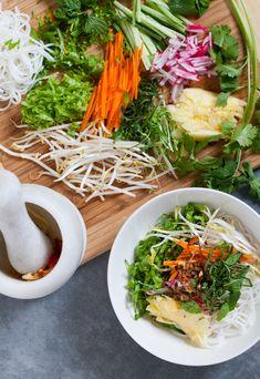 3 Noodle Salads: Vietnamese Bún, Japanese Chilled Soba, Shaanxi Liang Pi | meat loves salt