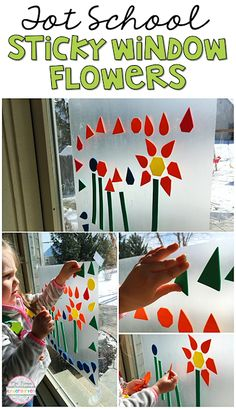 Tot School: Plants This sticky window flower activity had my little one SO engaged. Perfect idea for tot school preschool or the kindergarten classroom. The post Tot School: Plants appeared first on Toddlers Ideas. Toddler School, Toddler Classroom, Tot School, Educational Activities For Toddlers, Classroom Activities, Kindergarten Classroom, Classroom Ideas, Future Classroom, Spring Activities
