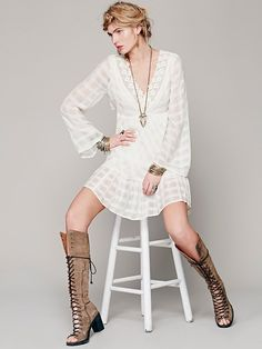 Free People Gentle Dreamer Dress at Free People Clothing Boutique