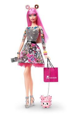Barbie 10th Anniversary Tokidoki Barbie