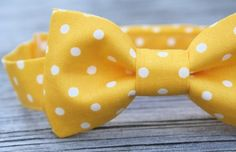 Yellow and polka dotted? I see this one in your future :)