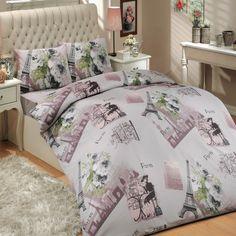 stylish black and white paris eiffel tower 3 piece twin duvet cover set paris bedding pinterest twin duvet covers duvet and tower