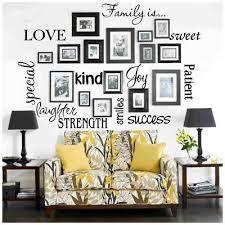 Resultado de imagen de decorar pared con fotos sin marco