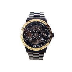 Gentle See-Thru Stainless Steel Self-Winding Mechanical Wristwatch