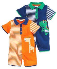 First Impressions Baby Boys  Polo Sunsuit Kids - Macy s. Colores NiñosMameluco  BebeRopa Para ... 13281e3f787f
