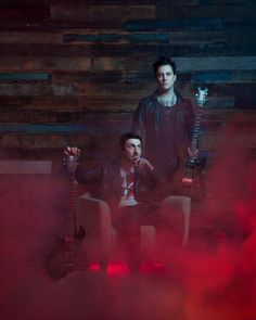 Synyster Gates and Zacky V. for Guitar World January 2017 issue. Photo by: Jeremy Danger Avenged Sevenfold Quotes, M Shadows, Zacky Vengeance, Synyster Gates, Escape The Fate, Three Days Grace, Architecture Tattoo, Celebrity Travel, Heavy Metal Bands