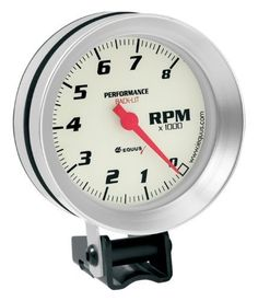 Equus 8068 Tachometer - White Dial, Model: 8068, Car & Vehicle Accessories / Parts. Works on vehicles with conventional, electronic, and distributorless ignition systems. Can be calibrated to work with 4, 6, and 8 cylinder engines and outboards. Chrome bezel and black dial with Domelux lens. 0 to 8000 RPM scale in 100 RPM increments. Offers two installation options, including hardware and inductive pickup.