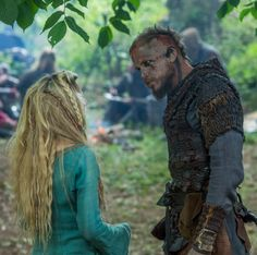Helga and Floki, Vikings