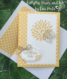 This Special Reason Bundle (stamp set and Stylish Stems Framelits Dies) is so versatile. I decided to make this card very simple with just a few extra touches. I used So Saffron card stock and Subt…