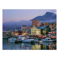 South Africa / V Waterfront. Cape Town, South Africa ❤ liked on Polyvore