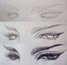 Gerade gepinnt an den Augen: Olhos . Nur an Augen gepinnt: Olhos Gerade gepinnt an den Augen: Olhos . Nur an Augen gepinnt: Olhos Eye Drawing Tutorials, Drawing Techniques, Art Tutorials, Pencil Art Drawings, Art Drawings Sketches, Cool Drawings, Eye Drawings, Hard Drawings, Fantasy Drawings