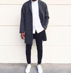 Black, white and gray, cool style