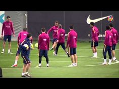 FC Barcelona training session: Bustling ahead of Betis