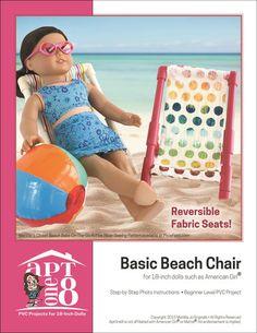 "FREE Basic Beach Chair 18"" PVC Pattern"
