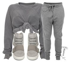 A fashion look from January 2016 featuring marled sweatpants, adidas flats and spike shirt. Browse and shop related looks. Lazy Day Outfits, Chill Outfits, Sporty Outfits, Cute Summer Outfits, Trendy Outfits, Cute Outfits, Fashion Outfits, Womens Fashion, Pastel Outfit