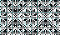 Will adapt chart for filet crochet Knitting Paterns, Fair Isle Knitting Patterns, Fair Isle Pattern, Knitting Charts, Loom Patterns, Cross Stitch Borders, Cross Stitch Alphabet, Cross Stitch Embroidery, Cross Stitch Patterns