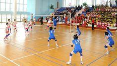 전국 학원 원아들의 체육경기 개막