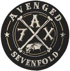 AVENGED SEVENFOLD A7X Back Patch  #avengedsevenfold #a7x #rockabilia #merchandise #licensedmerchandise #merch #metal #rock #backpatches #music
