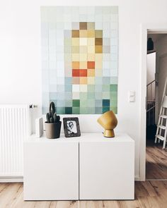 © Van GoghThrough the years, Pixel IXXI has become one of our most popular items. Modern abstract wall decoration of famous works of art and icons from all over the world, such as 'Self Portrait' by Vincent van Gogh. The centre of attention in any room!