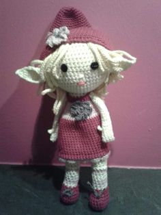 Elfe au crochet