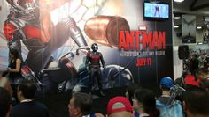 Ant Man costume at Marvel booth - San Diego Comic-Con 2015