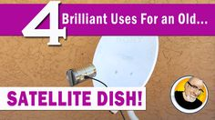 Here are 4 cool alternative uses for an old satellite dish! Support my video with a FREE download @ http://audible.com/kipkay…