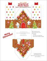 Printable Gingerbread Houses - Things to Make and Do, Crafts and Activities for Kids - The Crafty Crow