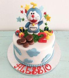 Torte Decorate - Muffinworld torta doraemon  doraemon cake torte per bambini Kids cake