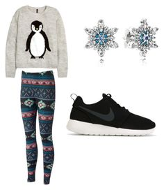 """""""not my best"""" by badwitch-69 ❤ liked on Polyvore featuring Pandora, H&M, NIKE, women's clothing, women's fashion, women, female, woman, misses and juniors"""