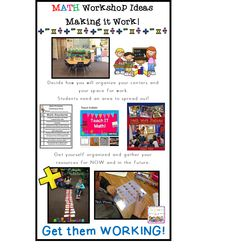 Easy tips for getting Math Workshop up and running in any classroom.