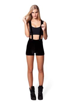 Velvet Black Woodchucks by Black Milk Clothing