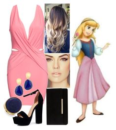 """""""Eilonwy - PARTY"""" by blackest-raven ❤ liked on Polyvore featuring Boohoo, Marco Bicego and Dune"""