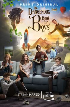 Get your tissues handy and watch the official trailer for The Dangerous Book for Boys TV show. We have the release date and a slew of season one photos. Will you be streaming this new family series? Movies For Boys, Good Movies To Watch, Books For Boys, Home Movies, New Movies, Movies Online, Movies And Tv Shows, Gina Torres, Toby Stephens
