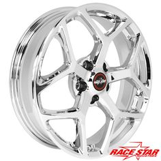 95 Recluse Chrome - Race Star Wheels (5 Lug 5x4.5 / 5x114.3)