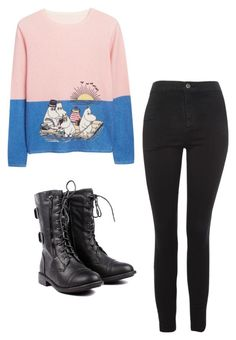 """""""Mila's casual wear"""" by pantsulord on Polyvore featuring Topshop"""