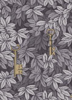 Fornasetti/Chiavi Segrete wallpaper from Cole & Son