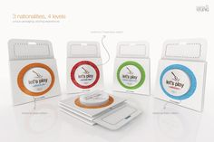 Packaging and logo ref
